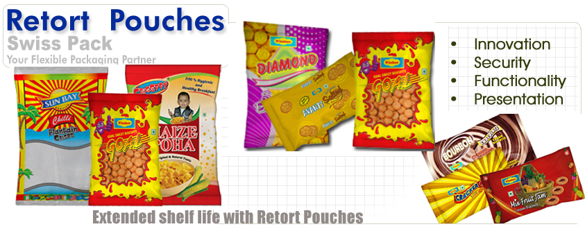 Manufacturer and Exporters of Retort Pouches